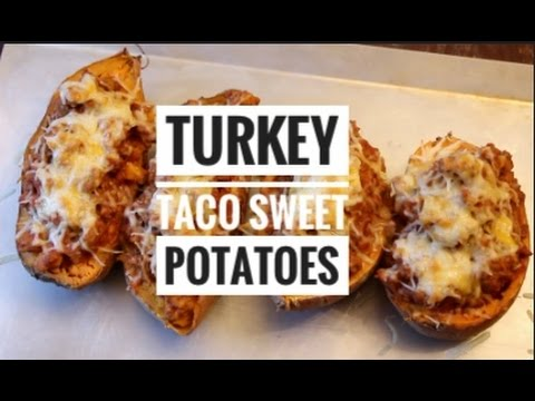 Hearty Healthy Mexican-Style Stuffed Sweet Taters