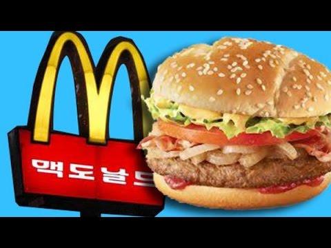 Trying Korean McDonald's (Seoul, South Korea)