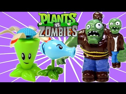Plants vs. Zombies 2 Action Toys Unboxing and Review!