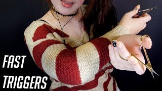 ASMR All of Fast Triggers for Tingles ✨