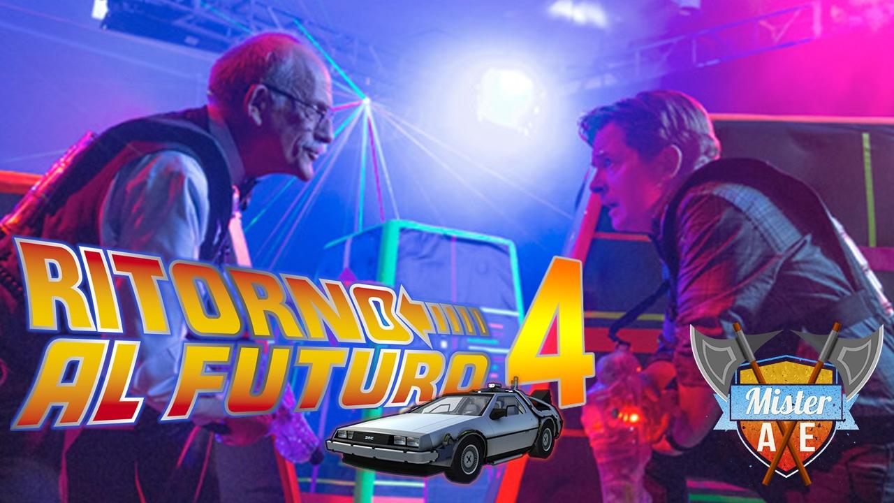 Trailer Ritorno Al Futuro 4 Back To The Future Part Iv Bttf Parodia Youtube