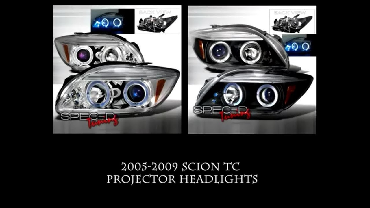 2005 2009 Scion Tc Spec D Aftermarket Headlight Installation Youtube Wiring Diagram For