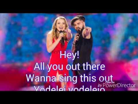 Ilinca ft Alex Florea-Yodel It Karaoke version (Eurovision 2017 Romania)
