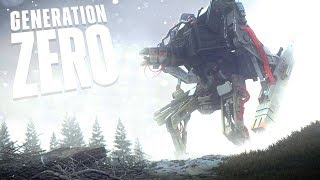 THE MACHINES HAVE BECOME BIGGER & DEADLIER - Surviving the Robot Invasion - Generation Zero Gameplay