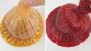 Satisfying Slime Pressing #11| ASMR CRUNCHY SLIME SOUNDS