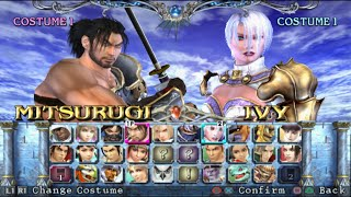 Soulcalibur III Opening and All Characters [PS2]