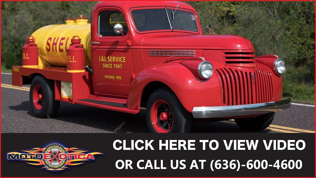 1941 Chevrolet Tanker Truck Sold Youtube Gmc Coe