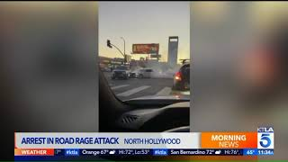 Arrest made in North Hollywood road-rage incident