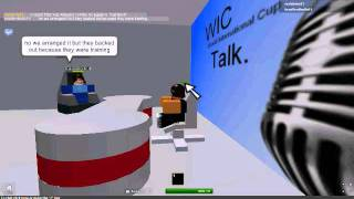 ROBLOX | WIC TALK WITH Bradfordbulls11