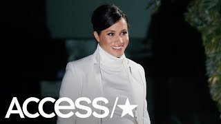 Meghan Markle Looks Radiant In All White For Gala Performance With Prince Harry | Access