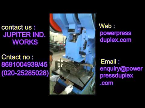 duplex power press