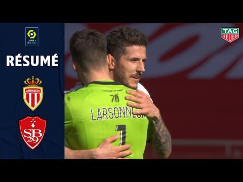 Monaco Brest Goals And Highlights
