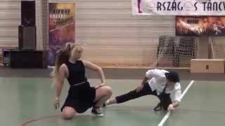 Hip-hop duo III.hely Dancer/ choreographer : Balogh Patricia & Hanuszik Kevin