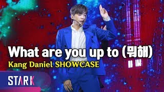 Cover images Title Song 'What are you up to', Kang Daniel Showcase (갓다니엘의 귀환, 솔로 데뷔 타이틀곡 '뭐해')