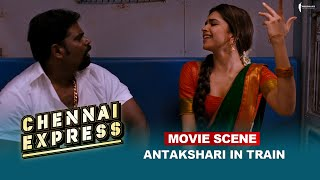 Antakshari In Train   Movie Scene   Chennai Express   Shah Rukh Khan   A Film By Rohit Shetty Thumb