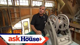 How to Reuse a Garden Hose Reel   Ask This Old House