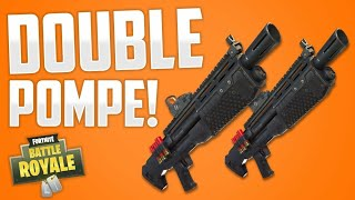 THE DOUBLE POMPE IS OF RETOUR ON FORTNITE! (TUTORIAL) Patched