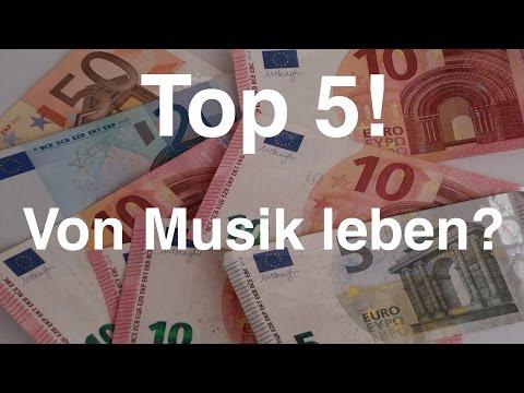 Top 5 Möglichkeiten um mit Deiner Musik Geld zu verdienen | Songwriting #10