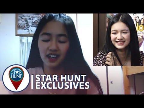 Kaori natawa nang mapanood ang kanyang audition  Star Hunt Exclusives