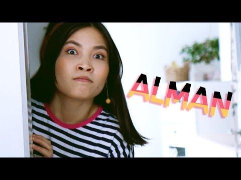 Wenn man Asiate ist aber auch voll ALMAN | ft. Silvi Carlsson (einem richtigen Alman)