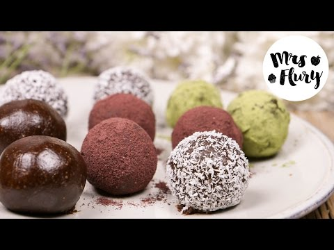 Kakao-Mandel Bliss Balls | Energie-Kugeln | gesunder Snack