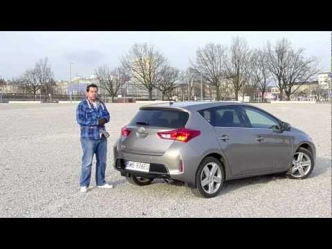 (PL) Toyota Auris 1.6 CVT - test i jazda próbna