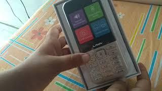 Silent Unboxing of LAVA GEM mobile