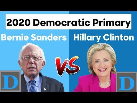 2020 Democratic Rematch | Hillary Clinton vs Bernie Sanders
