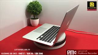 MACBOOK AIR 2013 - CORE I7 / RAM 8G / SSD 256G - LAPTOP TẠI HUẾ