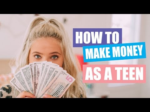 How to Make and Save Money as a Teen