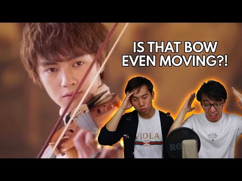 The Most Blatantly Fake Violin Acting...EVER