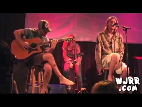 Puddle Of Mudd - Blurry (Acoustic) Live WJRR Private Show 2011 (HD)
