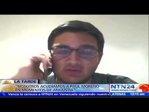 """""""Seguiremos en la calle para mantener el nombre de Paul Moreno"""": Amigo del joven de Cruz Verde Vzla"""