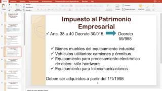Impuesto al Patrimonio Empresarial - Básico