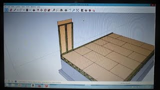 How To Draw A Cabin In Sketchup Part 3 Wall Panels