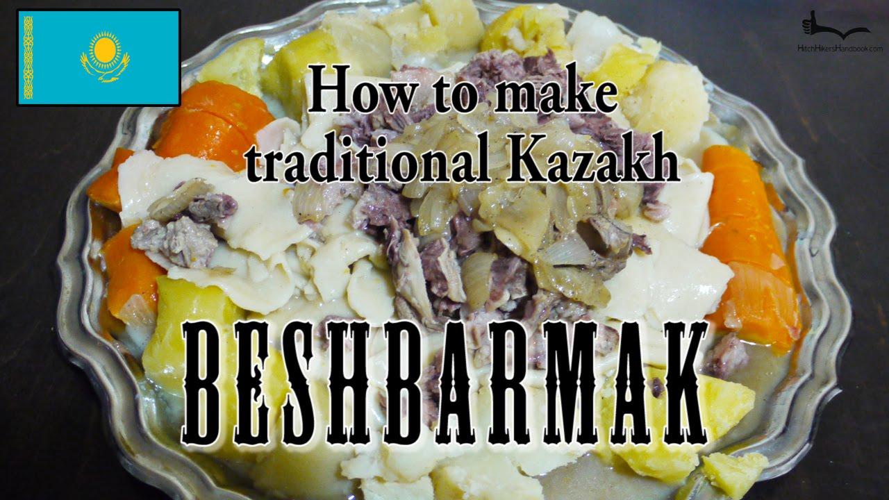Traditional recipe beshbarmak 66