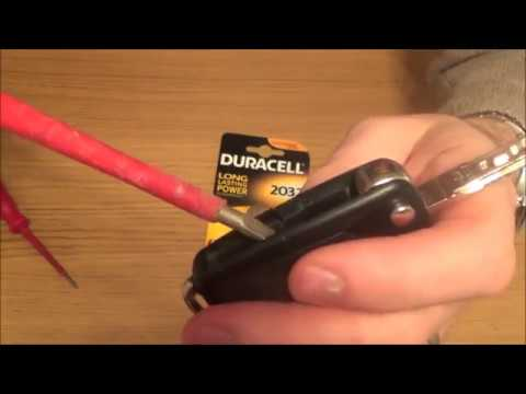 2008 VW Volkswagen Golf MK5 KEY FOB Battery Replacement