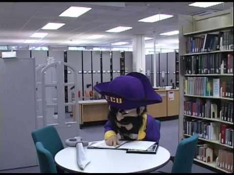 PeeDee's Big Adventure in the ECU Music Library