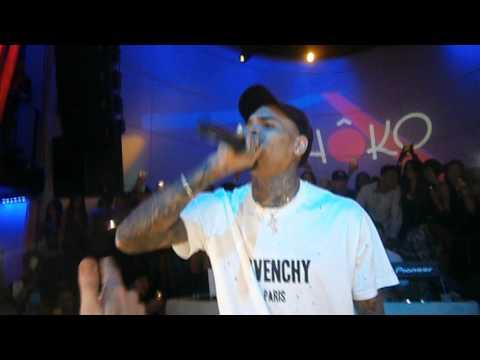 Chris Brown Madrid Loyal, Show Me, Take You Down, Holla At Me, Bitches n Marijuana
