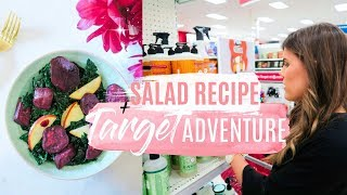 TARGET ADVENTURE! + Healthy Salad Recipe!