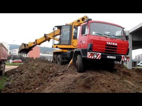 Экскаватор-планировщик Tatra UDS 114