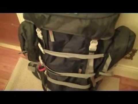 Jansport Carson External Frame Backpack First Impression Review ...