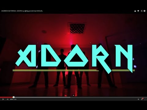 download Andrew Baterina Choreography | Adorn by @MiguelUnlimited MIGUEL