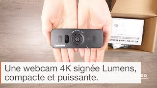 IN THE BOX : Caméra UHD ePTZ Lumens VS-B10U