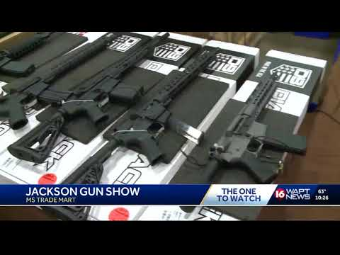 Reaction from MS Gun Show patrons after resent shooting