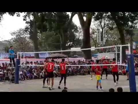 Tuyển Việt Nam vs Đại Học TDTT Từ Sơn: Hội làng Cổ Loa 2015 ( 1) - Bản Xấu !!!