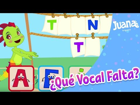 COMPLETAMOS PALABRAS CON VOCALES from YouTube · Duration:  4 minutes 15 seconds