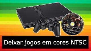 Playstation 2: Converter jogo Preto e Branco (PAL) para Cores (NTSC) + Teste - 2016 HD