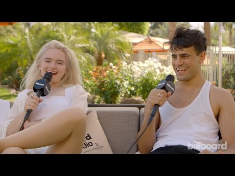 Clean Bandit Coachella Interview: UK vs. US Festivals,