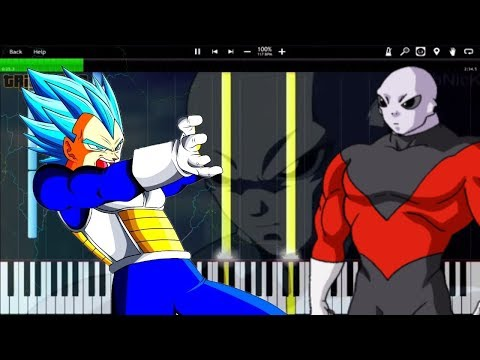 Saiyan's Pride - Dragon Ball Super OST / Vegeta vs Jiren FINAL FLASH! (Piano Tutorial) [Synthesia]